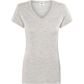 Bergans Bloom T-Shirt In Lana Donna, grey melange